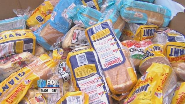The West Ohio Food Bank works with and receives donations from local grocery stores in the 11 counties they serve