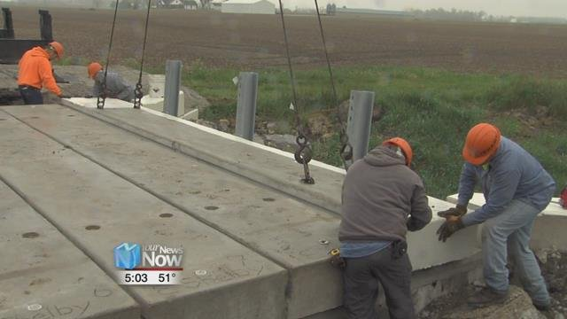 Auglaize County officials say they will complete 19 new bridge and rehab projects this year.