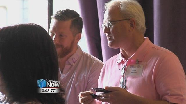 Real Men Wear Pink Campaign - Hometownstations.com-WLIO- Lima, OH News Weather Sports