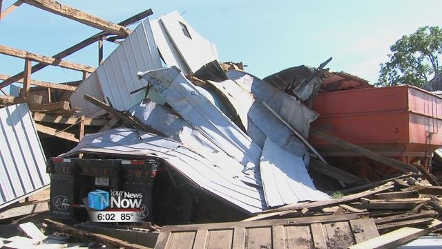 Tornadoes, damage reported as storms blow into western Ohio