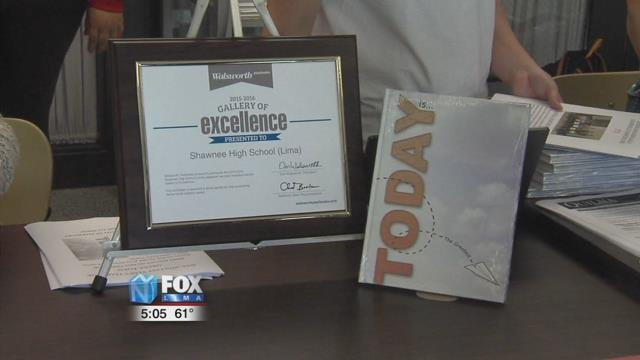 Every year, the Walsworth Gallery of Excellence picks the best yearbooks from around the country for their award and Shawnee High School has won that award five years in a row.