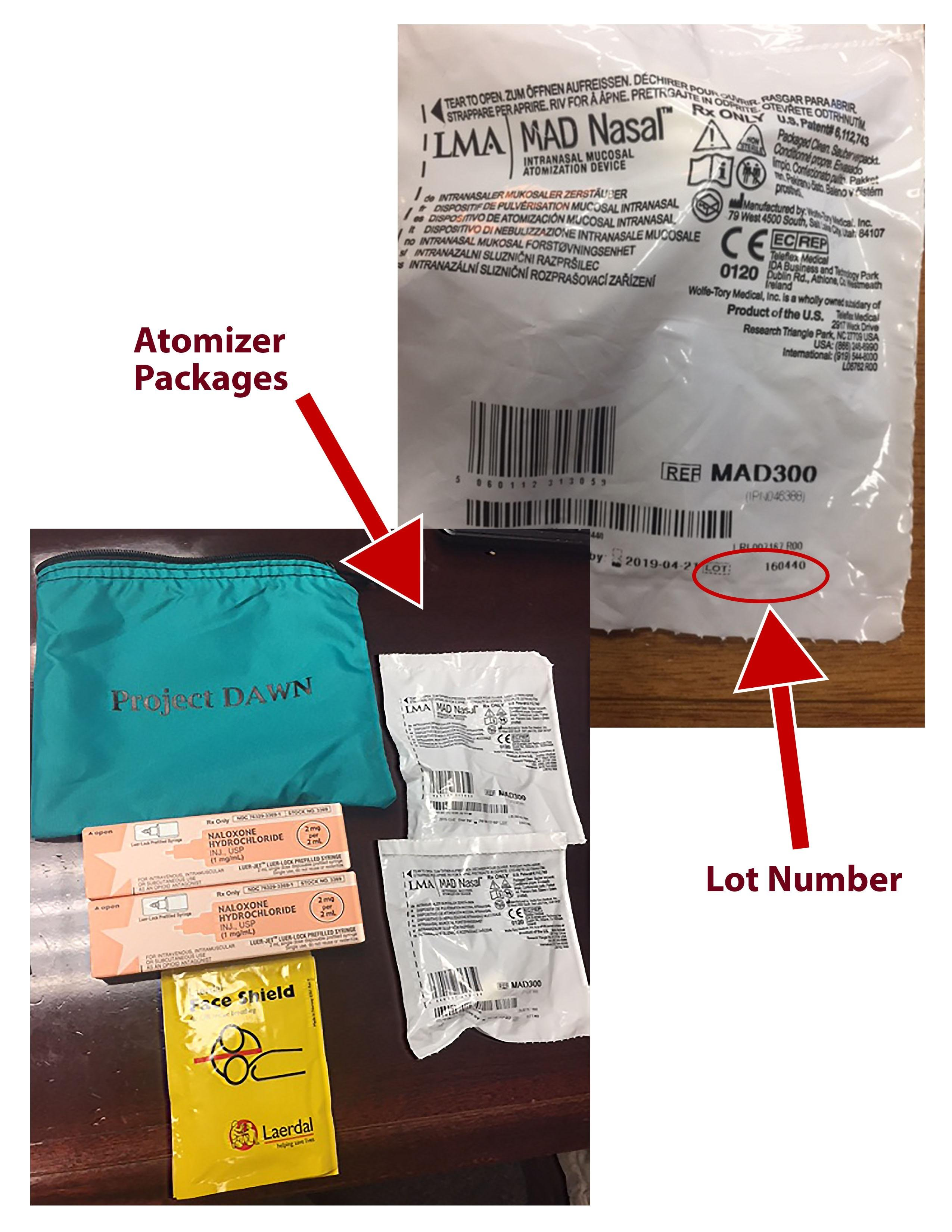 Alert issued after company recalls overdose antidote device