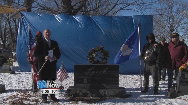 With so many people in attendance, including area law enforcement, Lynch's family is happy to know that he is remembered and respected where he once lived.