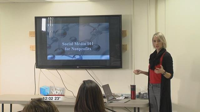 A local group, Healthy People 2020 gathered Thursday morning to watch a presentation on social media.