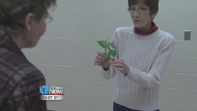 Deb Croy, co-owner of The Watering Can in Ottawa presented a program that should at least get you thinking about planting your vegetable or flower garden.