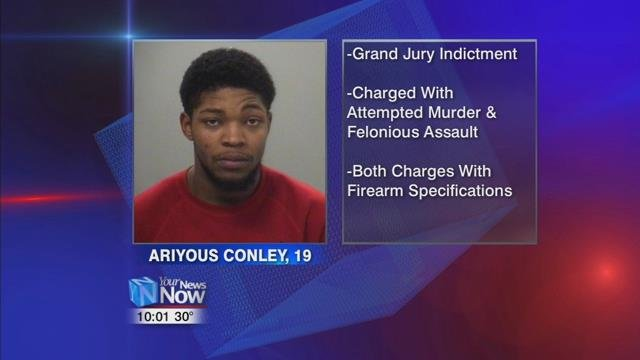 19-year-old Ariyous Conley was indicted this week by the Allen County Grand jury for attempted murder.