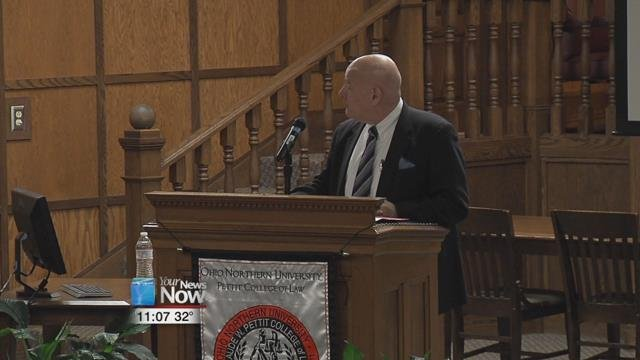 Presser explored the basic themes in his new book, Law Professors, Three Centuries of Shaping American Law.