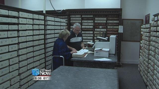 These documents are all pre-computer system of 1990 dating back to 1831.