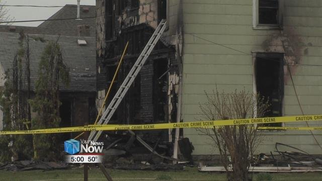According to the fire department, they were called out just after 2:30 a.m. Monday morning to 221 East Warren Street for a home that was fully engulfed by flames.