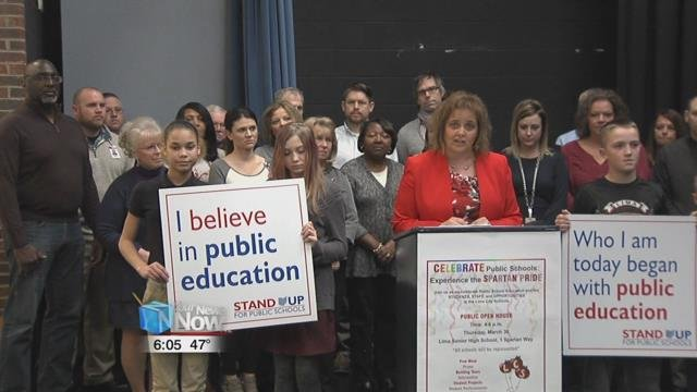 Lima City Schools announced Monday they will spend the last week in March celebrating the public school system.