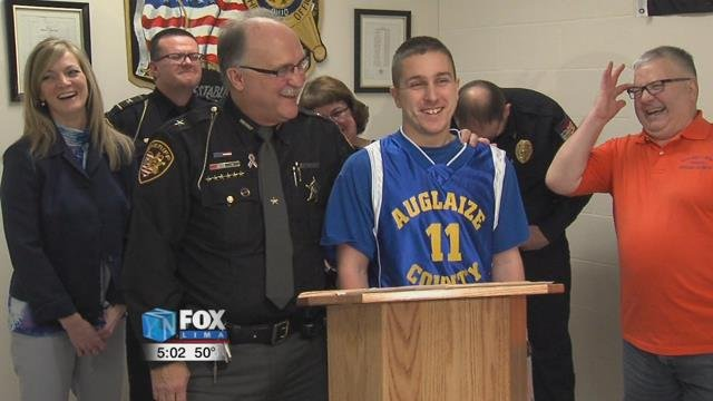 "The Auglaize County Mustangs will be competing against Auglaize County Law Enforcement in this years ""Blue on Blue"" benefit basketball game."