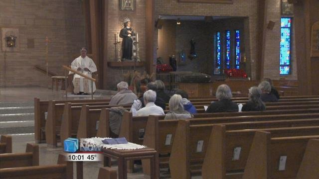 The St. Gerard Catholic Church in Lima hosted a Candlelight Prayer Vigil to abolish the State of Ohio's death penalty.