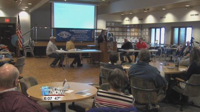 Members of the Lake Improvement Association heard the latest updates on efforts to clean up Grand Lake St. Marys.