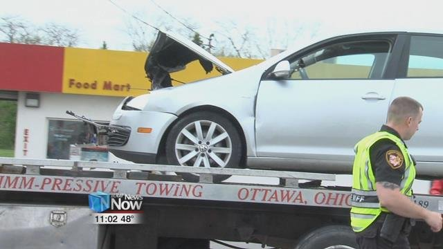 According to a deputy with the Putnam County Sheriff's Department both cars were southbound on State Route 65.