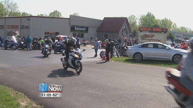 Motorcyclists took to the road for the 8th Annual Scrabble Run to help raise money for Family Promise