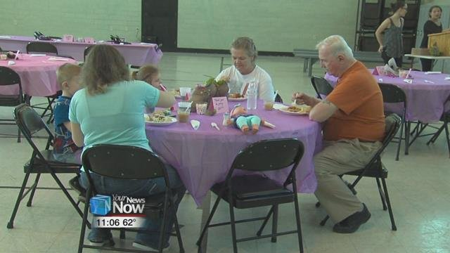 The Salvation Army held a Spaghetti Dinner at their East Market Street location.