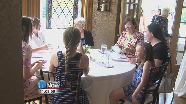 Mothers and their families enjoyed brunch and bubbly at Jameson Manor on Sunday