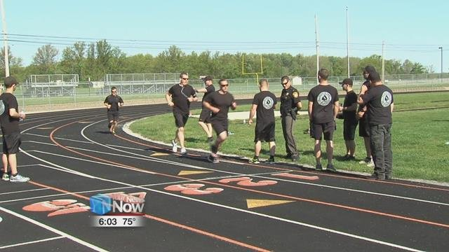 Nine new hire deputy candidates competedin a fitness examination, which is all donein efforts to improve employee health and fitness.