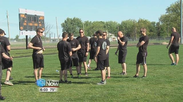 Fivecandidates competing for two open positions on the SWAT team were also tested.