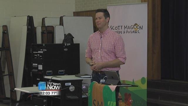 Children's book illustrator and author, Scott Magoon of Boston has been writing, designing, and illustrating books for young readers for fourteenyears.