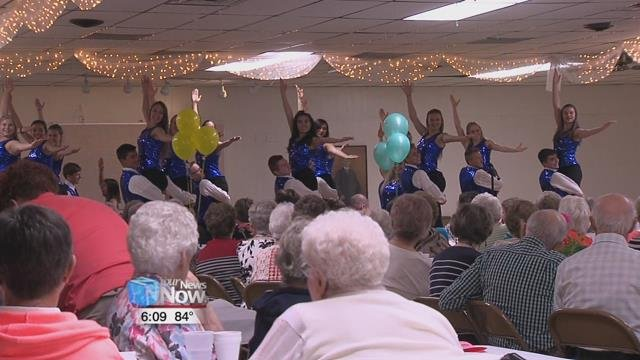 "Tuesday the group encouraged seniors to ""Age Out Loud"" by honoring two women who have worked hard to give back to the Kalida community."