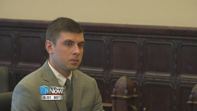 27-year-old Broc Hottle appeared before visiting judge,Patricia Cosgrove.
