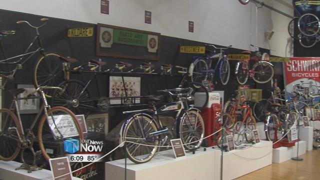 The Bicycle Museum of America is open Monday through Friday from 9 a.m.-5 p.m.and on Saturdays from 10 a.m.- 2 p.m.
