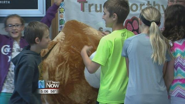 Franklin Elementary students have been collecting money and donating it to the Allen Lima Leadership Teddy Bear Fund for almost 30 years.
