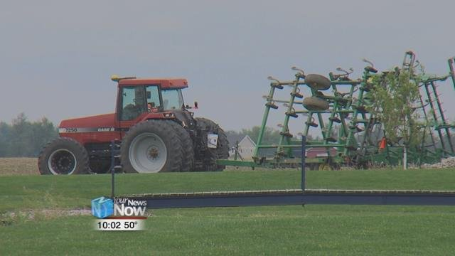 For many farmers, recent rains have either helped or dramatically hurt their crops.