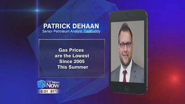June gas prices lowest since 2009 nationally