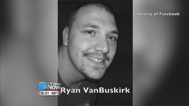 The charges stem from the death of Ryan VanBuskirk.