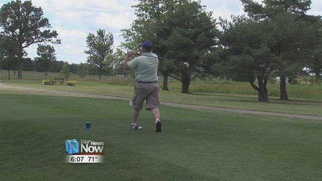 Twenty-six teams took to the links at the Pike Run Golf Club for the outing, competing for a variety of prizes donated by local merchants and companies
