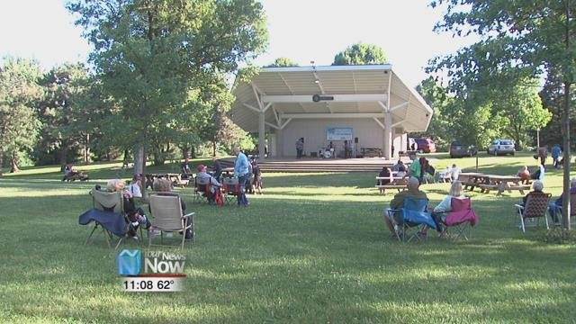 The Council for the Arts of Greater Lima and the City of Lima tonight kicked off their latest season of free concerts in the park.