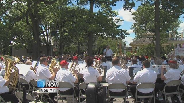 The Lima Area Concert Band is made up of about 60 volunteer members and has been performing for the area for over 40 years.