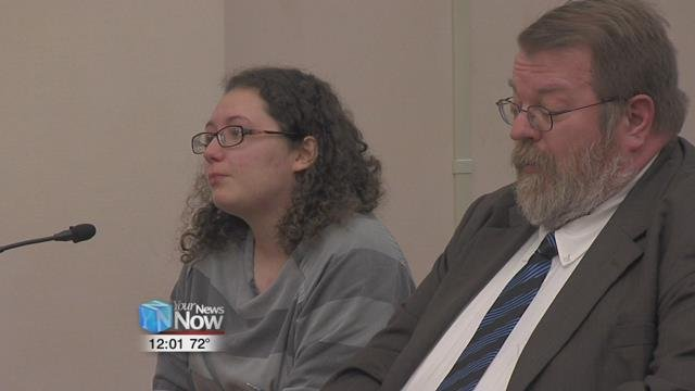 Judge Jeffrey Reed sentenced 26-year-old Kaylee Shoopman to four years in prison for each felony robbery charge, but the terms will be served concurrently.