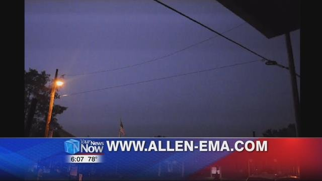 "By heading to www.allen-ema.com and clicking on ""Alert Allen County"" you can sign up to have weather alerts sent directly to your phone or computer."