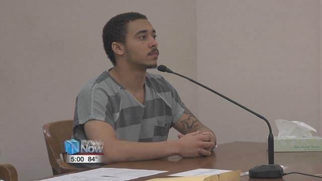 19-year-old Cory Jackson waived his right to a speedy trial in front of Judge David Cheney.