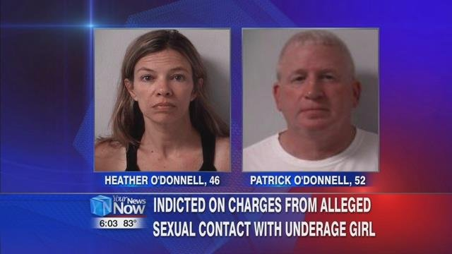 Online records show the O'Donnells were in the Logan County Jail after their arrests on Tuesday, July 11th.