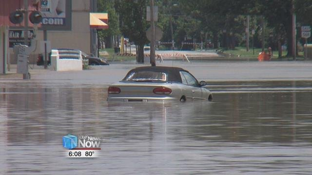 Hancock County has been working on a plan to mitigate flooding but it's been a slow process that might have been hampered by the U.S. Army Corps of Engineers.