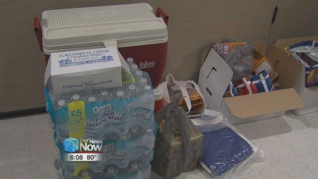 Helping those affected by the flooding is an ongoing process.