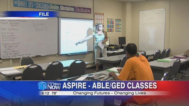 Aspire, formerly known as the ABLE GEDProgram is designed to be a stepping stone for adults looking to start the next chapter in their lives.