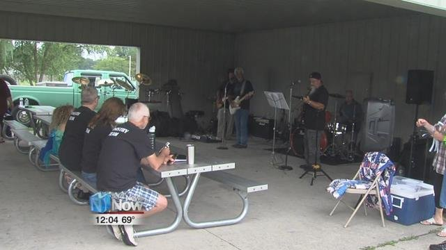 White Horse Biker Church marked their first anniversary with a picnic celebration at Smiley Park.