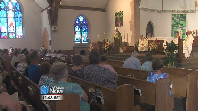 The history of St. John the Baptist Church goes back about as far as the community itself.