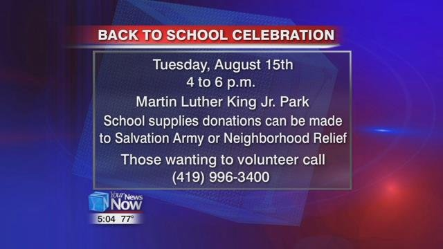 Those interested in donating school supplies for the event can contact the Salvation Army as well as Neighborhood Relief.