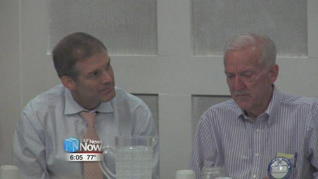 Congressman Jim Jordan addressed members of the club with a concerning message about healthcare.