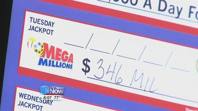 Mega Million tickets are $1each and can be played in 44 states.