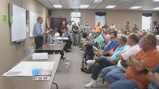 Residents were able to voice their opinion to the Ohio Department of Agriculture about the proposed concentrated animal feeding operation.