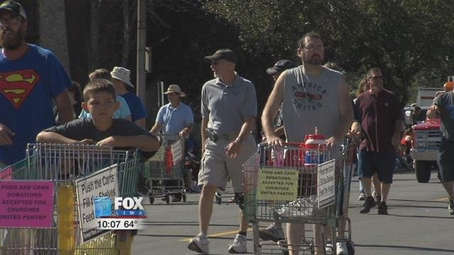 Members of Forest Park United Methodist will once again be taking their shopping carts to the streets of Lima during the Allen County Fair this Sunday(8/13/17).