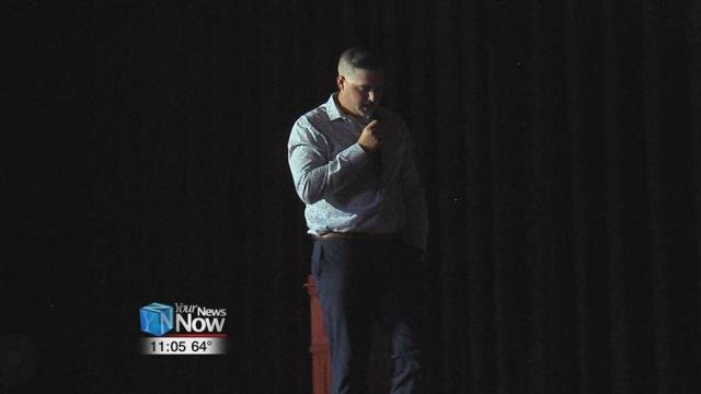 22-year-old Zach Ricker is telling his story to help others who may be having a rough time and considering harming him or herself.