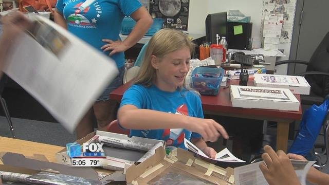 The Armstrong Air and Space Museum in Wapakoneta hosted a week long Astronaut Camp for those in the fifth through eighth grade.